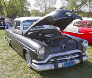 Preto Oldsmobile 1952 88 super Imagens de Stock