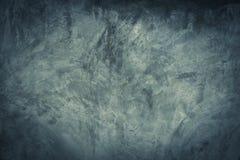 Preto, parede abstrata escura e cinzenta do cimento e fundo do inclinação da sala do estúdio fotografia de stock