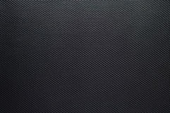 Preto textured fibra do carbono Fotografia de Stock