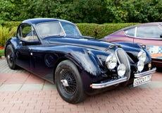 Preto velho clássico do carro Fotos de Stock Royalty Free