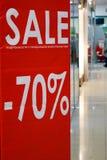 Preto vermelho sexta-feira da venda Fotografia de Stock