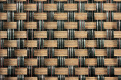 Preto/Weave de Brown Fotografia de Stock