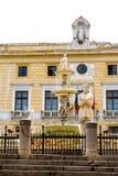 Pretoriańska fontanna w Palermo, Włochy zdjęcie royalty free