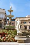 Pretoriańska fontanna w Palermo, Włochy zdjęcia stock
