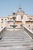 Pretoria Fountain, Palermo. Fountain Pretoria, Palermo - detail of a statue Stock Photos