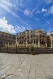 Pretoria fountain in Palermo Stock Photography