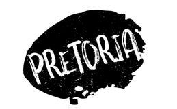 Pretoria rubber stamp Royalty Free Stock Photo