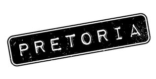 Pretoria rubber stamp Royalty Free Stock Images