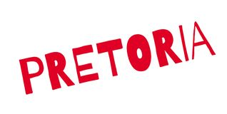 Pretoria rubber stamp Royalty Free Stock Photography