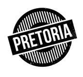 Pretoria rubber stamp Stock Photo