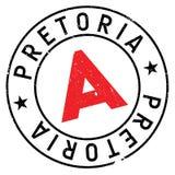 Pretoria stamp rubber grunge Stock Photos