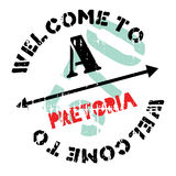 Pretoria stamp rubber grunge Royalty Free Stock Photography