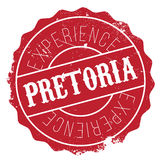 Pretoria stamp rubber grunge Stock Images