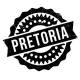 Pretoria stamp rubber grunge Royalty Free Stock Images