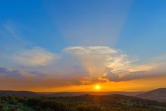 Pretoria sunset Stock Images