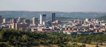 Pretoria van de binnenstad, Gauteng, Zuid-Afrika stock foto's