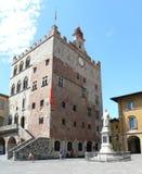Pretorian Palace in Prato Stock Images