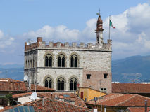 Pretorian Palace in Prato Stock Images