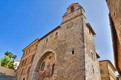 Pretorio palace. San Gemini. Umbria. Italy. Royalty Free Stock Images