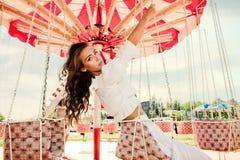 In pretpark Royalty-vrije Stock Foto