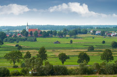 Prettig platteland stock foto
