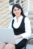 Prettu Business Woman stock photography