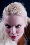 Pretty. Portrait of pretty blond woman Stock Photo