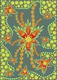 Pretty abstract floral design stock photos