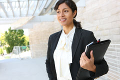 Pretty African American Business Woman Stock Photography