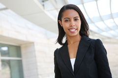 Pretty African American Business Woman Royalty Free Stock Photo
