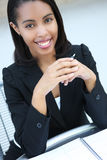 Pretty African American Business Woman Royalty Free Stock Image