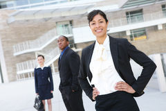 Pretty African American Business Woman Royalty Free Stock Photography