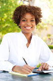 Pretty African American executive Royalty Free Stock Photo