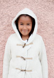 Pretty African American Girl warm Stock Photography