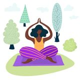 Yoga Girls Vector vector illustration