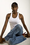 Pretty African American Model Royalty Free Stock Photos