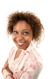 Pretty African American Woman Stock Photography