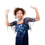 Pretty African-American Woman Royalty Free Stock Photography