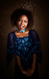 Pretty African-American Woman Stock Photo