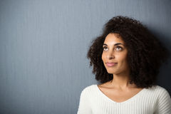 Pretty African American woman Royalty Free Stock Image