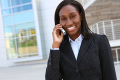 Pretty African Business Woman Royalty Free Stock Photo