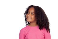 Pretty african girl Stock Photo