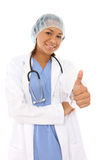 Pretty African Surgeon Royalty Free Stock Photo
