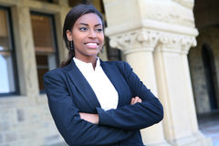 Pretty African University Student Stock Photos
