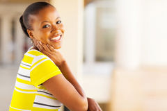 Pretty african woman Stock Photography