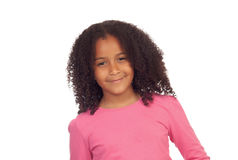 Pretty afro-american girl i Royalty Free Stock Photography