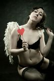 Pretty angel Royalty Free Stock Images
