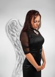 Pretty angel Stock Images