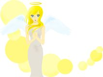 Pretty angel Royalty Free Stock Photo
