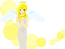 Pretty angel vector illustration